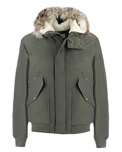 Penn-Rich Woolrich giubbotto verde Uniform Bomber L