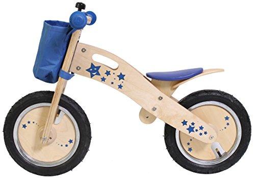 Eureka Acrobat Wooden Training Bike (Blu)