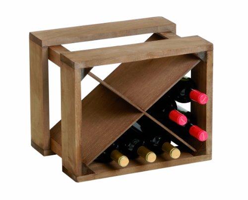 Renoir - Cantinetta in Legno per 12 Bottiglie - Modulo Componibile
