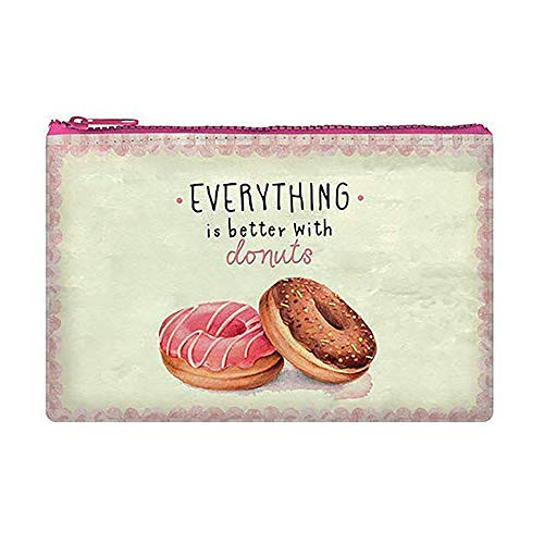 Zipper Pouch Funky Collection - Donuts Astuccio