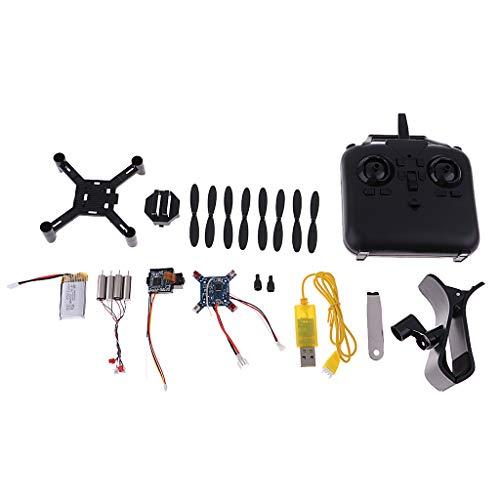 SM SunniMix Mini RC Quadcopter Elicottero Piccolo WiFi Drone Fai da Te, Kit Non Assemblato