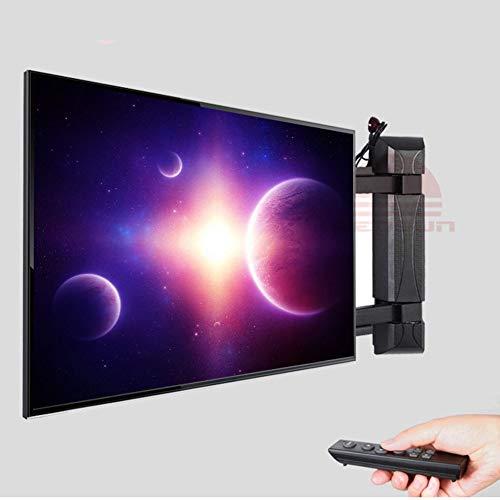 Xue Telecomando Rolling TV Stand Mobile TV Cart, Rotazione Elettrica per 55-70 Pollici A LED LCD al...