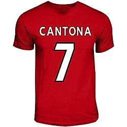 Eric Cantona Manchester United Hero T-shirt (red)