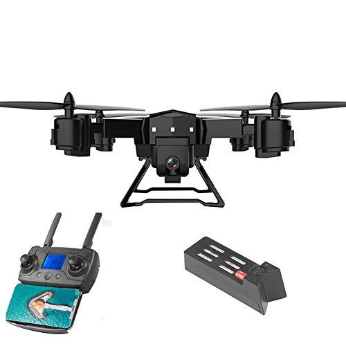 KY601G RC Elicottero GPS Drone 2.4 GHz a 6 Assi giroscopio 4 canali Quadcopter WiFi FPV Drone con videocamera 4K HD, Controllo App/gesti Foto, One Key Return, Video Live Compatibile for VR Headset