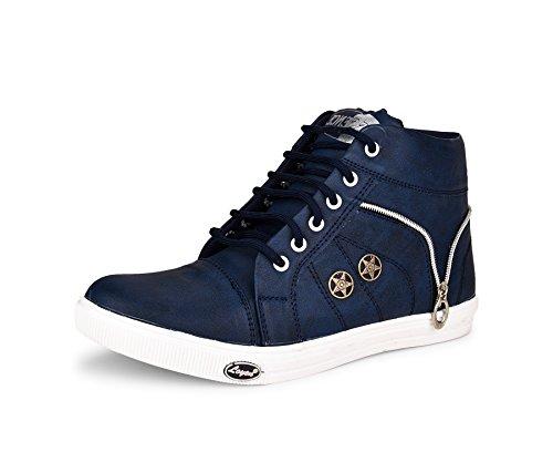 ESSENCE Men's Sneakers Blue Synthetic 8
