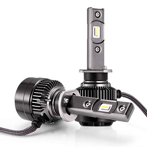 AUTLEAD H1 Fari a LED Lampadina - Luce alta/bassa, Fendinebbia per Auto, CSP 70W 7200LM, 6500K Luce...