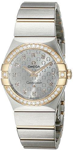 Omega Constellation Brushed Quartz 123.25.27.60.52.001