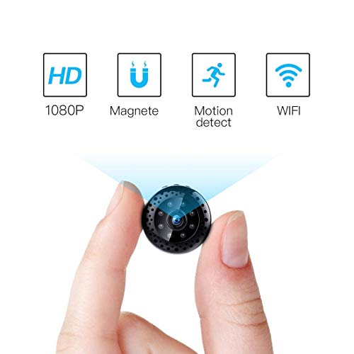 FREDI HD1080P WIFI telecamera Spia videocamera nascosta Microcamera Wireless Mini Camera spia...