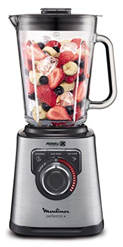 Moulinex Perfect Mix + Frullatore con Sistema Air Cooling, Vetro