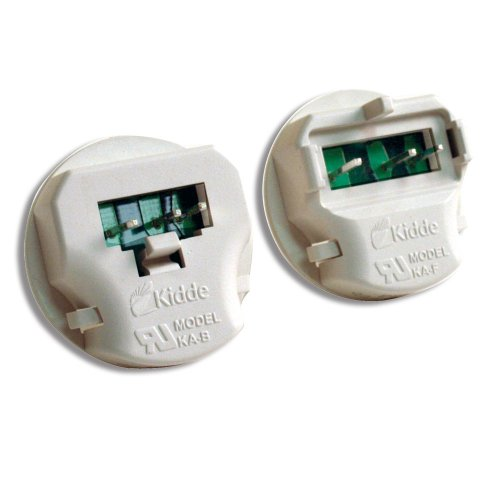 Kidde KA-B, KA-F Universal Smoke Alarm Adapters, 2 Different Units for different types of Alarms