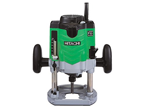 What we like about the Hitachi M12VE/J6 1/2-inch Variable speed router is an extremely powerful 2000W motor and the ergonomic soft-grip handles which allows you to work comfortably with the machine.