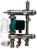 Festwertregelset für Fußbodenheizung mit Pumpe OMI Pumpengruppe Heizung