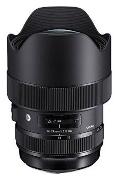 Sigma DG HSM Art Lente de la cámara Nikon, Color Negro