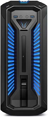 MEDION ERAZER X67105 Gaming Desktop PC (Intel Core i5-9400, 16GB DDR4 RAM, 1TB HDD, 256GB PCIe SSD, NVIDIA GeForce GTX 1050 Ti 4GB GDDR5 VRAM, DVD, Hot-Swap, WLAN, Win 10 Home)