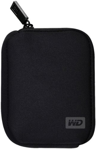 WD My Passport Custodia per Hard Disk Esterno da 2.5', Nero