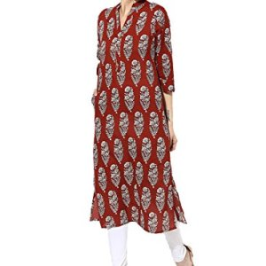 RAMRATH Women's Cotton Kurta 3  RAMRATH Women's Cotton Kurta 41ZZKfGZt4L