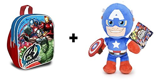 Los Vengadores (The Avengers - Marvel) - Pack Peluche Capitan ...