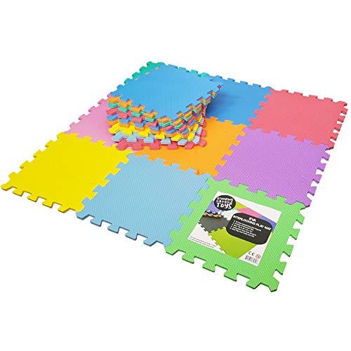 Tappeto Puzzle per Bambini in Soffice Schiuma Eva | Tappeto da Gioco Multicolore | Tappetino Puzzle...