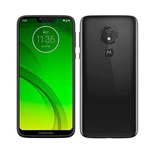 Motorola Moto G7 Power - Smartphone Android 9 (batería 5000 mah, pantalla 6.2'' HD+ Max Vision, camaras 12MP y 8MP, 4GB RAM, 64 GB, Dual SIM, color negro [Versi?n espa?ola]