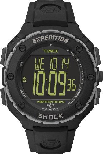 Timex T49950 Orologio Digitale da Polso da Uomo, Resina, Nero