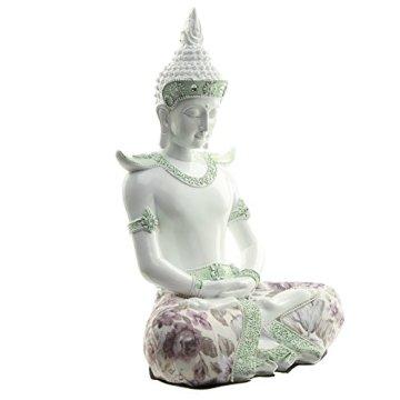 Decorativo floral iluminación-Figura decorativa de Buda, altura: 26cm, ancho: 18cm), profundidad 14cm 7