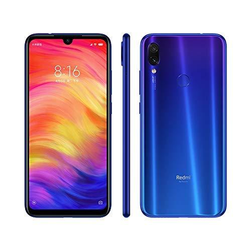 "Xiaomi Redmi Note siete 16 cm (6.3"") cuatro GB 64 GB Ranura híbrida Dual SIM 4G Azul 4000 mAh - Smartphone (16 cm (6.3""), cuatro GB, 64 GB, 48 MP, Android® 9.0, Azul)"
