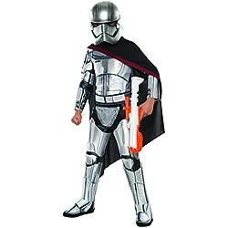 Rubies 's oficial de Disney Star Wars Super Deluxe capitán Phasma, los niños disfraz–pequeño