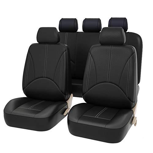 Coprisedili per auto universale in pelle PU per auto regalo Anteriore e posteriore protezioni per...