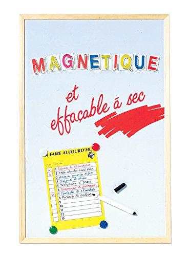 Esselte Lavagna Magnetica Cancellabile a Secco–40x 60cm–Bianco