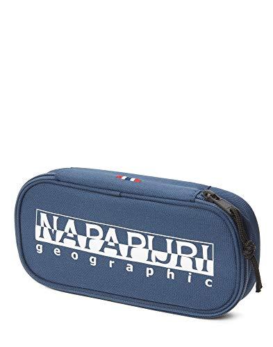 Napapijri Happy Pen Organizer Astuccio, 0 cm, blu (Insignia Blue) (Blu) - N0YID4