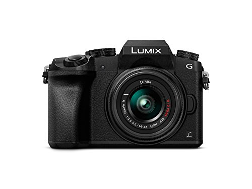Panasonic LUMIX DMC-G7K Fotocamera Mirrorless Digitale con Obiettivo Standard Zoom LUMIX G VARIO...