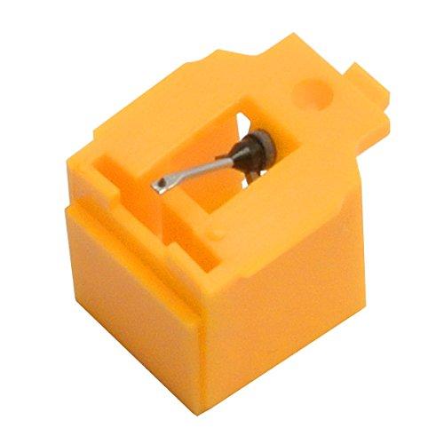 iBatt Puntina per giradischi, puntina fonografica cod. 325-5, taglio conico, compatibile AIWA...