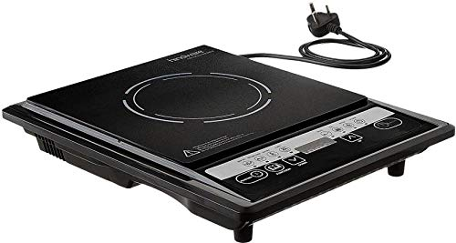 Hindware Aveo Plastic Induction Cooktop (Black, Small)