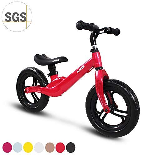 COEWSKE 12'Balance Bike Magnesio Lega No Pedal Walking Balance Training Bicicletta per Bambini e...