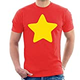 Cloud City 7 Steven Universe Yellow Star Men's T-Shirt