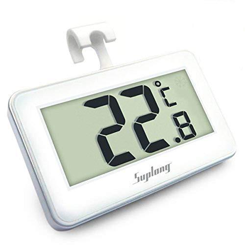 AIGUMI, termometro digitale per frigorifero e congelatore, impermeabile, con display LCD di facile...