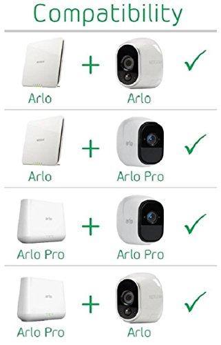 41aBYMgj%2BFL [Bon Arlo !  Arlo - Caméra additionnelle HD 100% sans Fil, Vision Nocturne, Etanche Intérieure/Extérieure - Compatible avec syst...