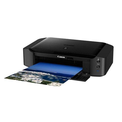 Canon Pixma iP8750 A3+ Professionelle Farbtintenstrahl drucker (9600 x 2400 dpi, WiFi, USB) schwarz