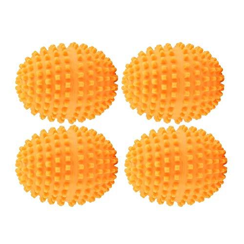 Fdit Arancione riutilizzabili Dryer Balls Lavaggio Lavanderia Asciugatura Palla per la casa Vestiti...