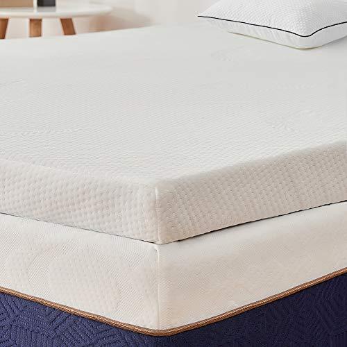BedStory Topper Memory Foam Matrimoniale, Correttore Materasso per Letto, Materasso Topper in...