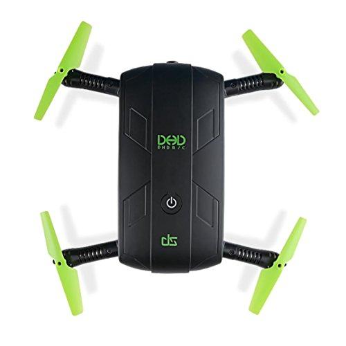 Oyedens Drone, JJRC DHD D5 Pieghevole RC Quadcopter 30W WiFi FPV Telecamera di Controllo della Presa...