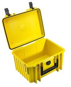 B & W International 2000 / maleta Y prueba de golpes/impermeable / resistente a la ultra cámara Amarillo