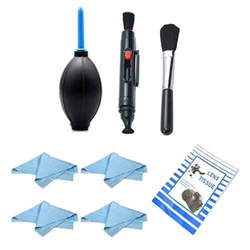 MP power @ Kit de limpieza Cleaning kit para objetivos SLRs DSLRs Canon 7D 60D 50D 40D 30D 650D 600D 550D 500D 450D 400D 350D 300D Panasonic GH3 G5 GX1 G3 GF2 GH2 GF1 G10 Nikon D4 D3s D3x D3 D800 D600 D700 D300s D300 D200 D100 D90 D80 D70s Fijifilm X100 X10 X-Pro1 pentax Q Q10 Olympus E5 E3 E30 E300 E620 E520 E420 E450 E-P2 E-PL2 E-PL1