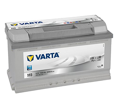 Varta 6004020833162 Autobatterie Silver Dynamic H3 12 V 100 Ah 830 A
