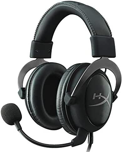 Kingston HyperX Cloud II Gaming Kopfhörer (für PC/PS4/Mac) gun metal