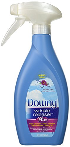 Downy Wrinkle Releaser Plus, Light Fresh Scent, 16.9 Fl. Oz.