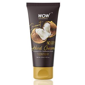 WOW Coconut Gentle Hand Cream - No Parabens, Silicones, Mineral Oil, Color & PG - 40mL 1