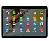 10 Zoll Octa Core CPU Android Tablet 4GB RAM 64GB interner Speicher WiFi Kamera GPS Dual SIM ohne Netzsperre 3G Tablet (Metall Schwarz)