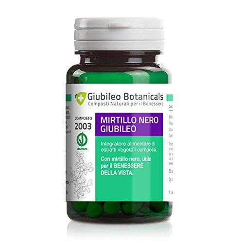 Mirtillo Nero 50cps - Integratore alimentare utile per il benessere della vista