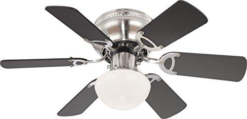Deckenventilator Mit Beleuchtung Und Zugschalter Ventilator Globo UGO 0307 034007